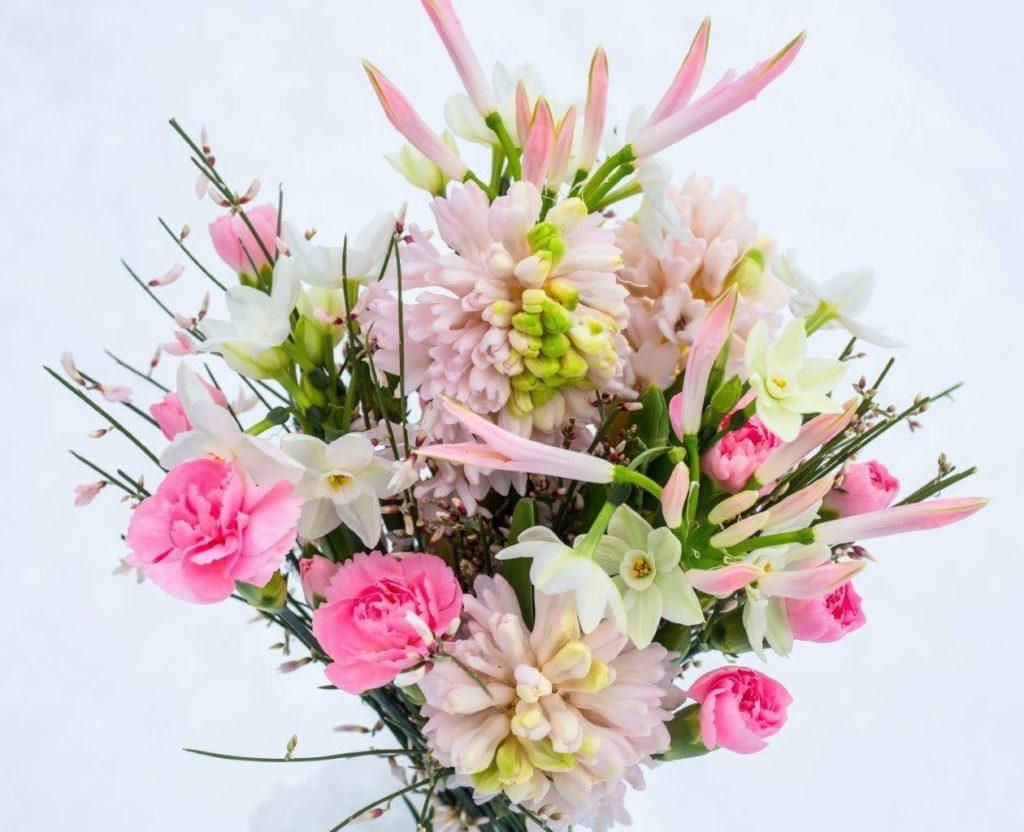 Rosa Blumenstrauß