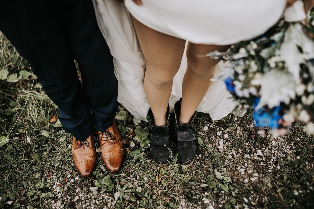 Schau mir auf die Füße