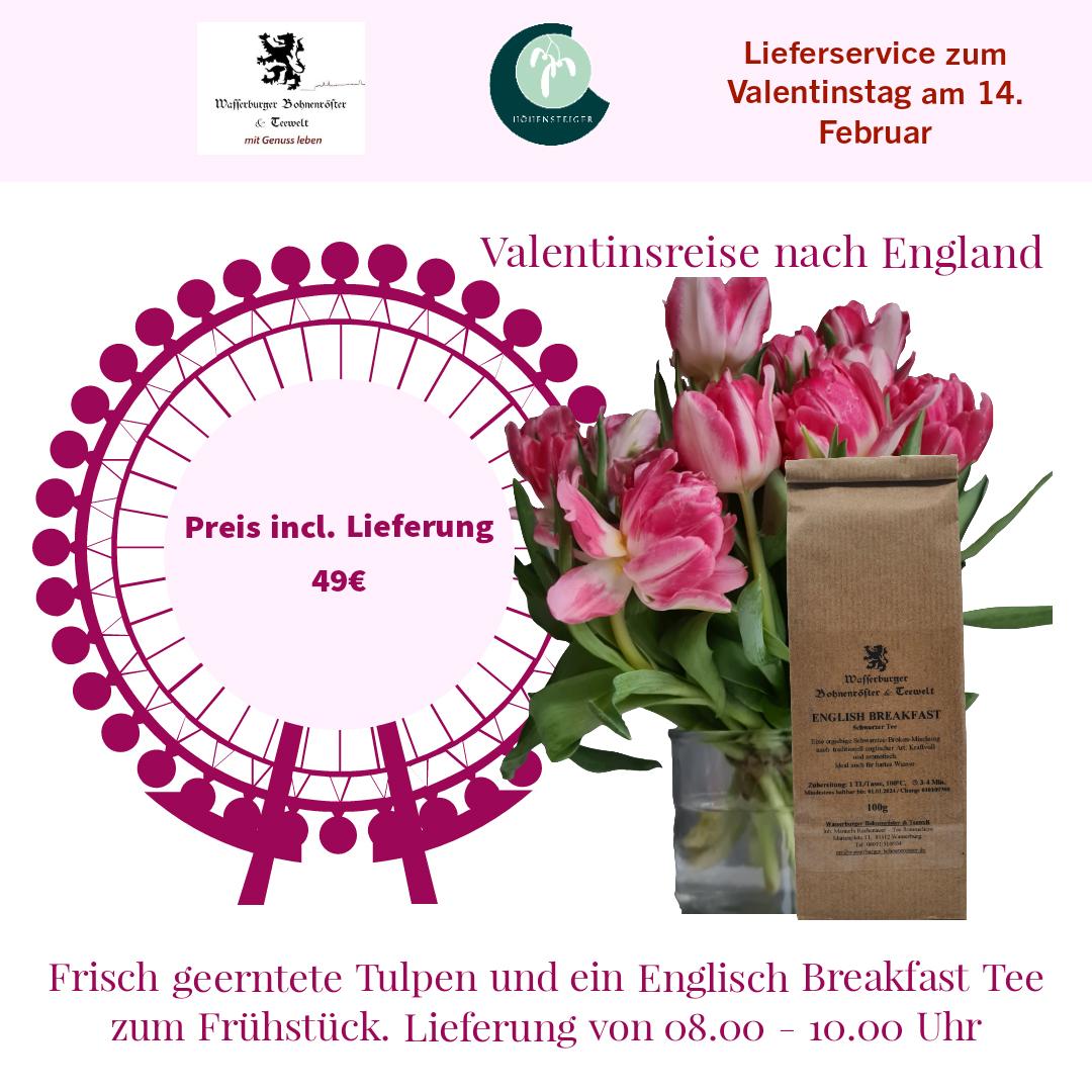 Valentinsreise England