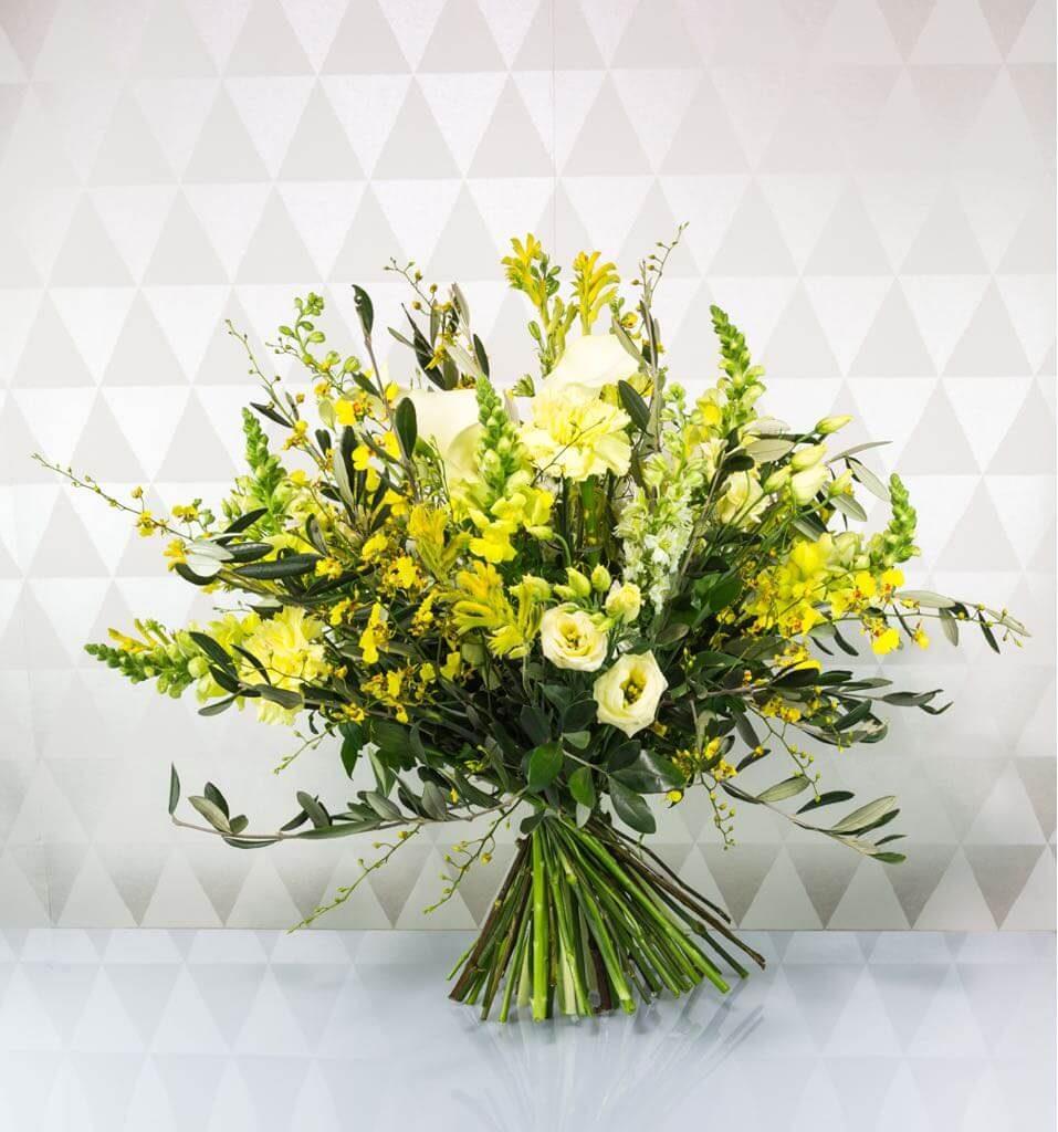 gelber Blumenstrauß